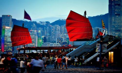 Zdjecie CHINY / - / Hong Kong / chińska bajka