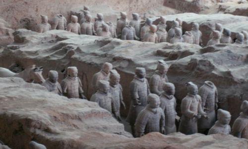 Zdjecie CHINY / Xian / Xian / Armia z terakoty