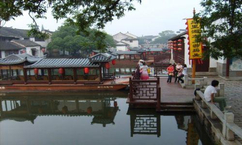 Zdjecie CHINY / Tongli / Wodne miasteczko Tongli / Wodne miasteczko