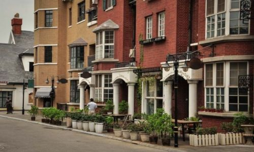CHINY / Szanghaj / Thames Town / Thames Town- Szanghaj