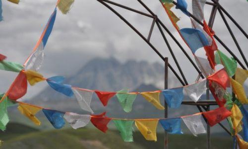 Zdjęcie CHINY / Syczuan, Garze / Tagong / W głebi Yala Peak