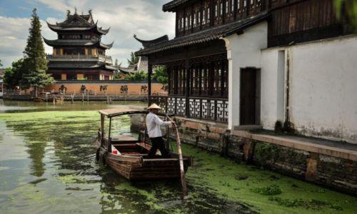 Zdjęcie CHINY / Szanghaj / Zhujiajiao / Zhujiajiao
