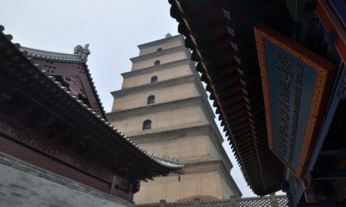 Zdjęcie CHINY / Shaanxi / Xian / Wielka Pagoda Dzikich Gęsi