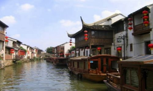 Zdjecie CHINY / Wsch. Chiny  w delcie Jangcy / Sushou / Wenecja Wschodu