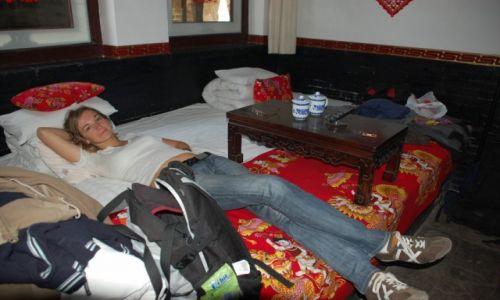 CHINY / Shanxi / Pingyao / Pokój w Pingyao (zdjęcie do art.)