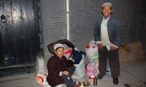 CHINY / Xian / Dzielnica Muzułmańska / Autochtony Xian