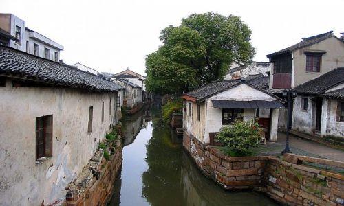 Zdjecie CHINY / Suzhou /   / Chińska Wenecja