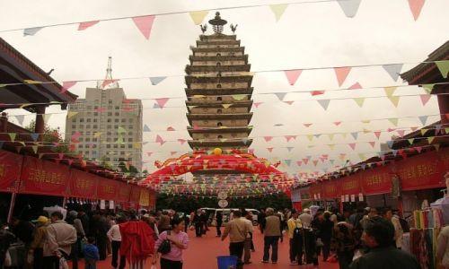 Zdjecie CHINY / Yunnan / Kunming / Pagoda Zachodnia