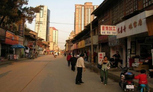 CHINY / Yunnan / Kunming / dzielnica muzułmańska