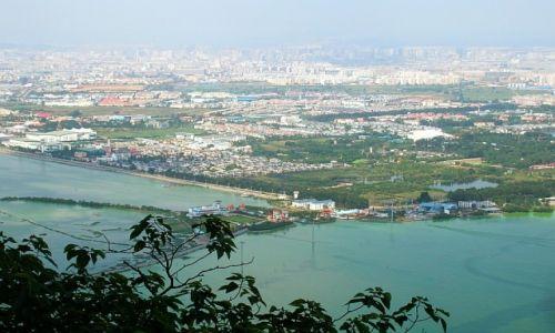 CHINY / Yunnan / Kunming / jezioro Dian Chi
