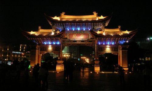 CHINY / Yunnan / Kunming / centrum Kunmingu