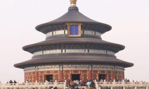 Zdjecie CHINY / brak / Pekin / Świątynia Nieba