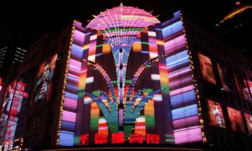 Zdjęcie CHINY / brak / Szanghaj / Nanjing Rd. - ulica neonów