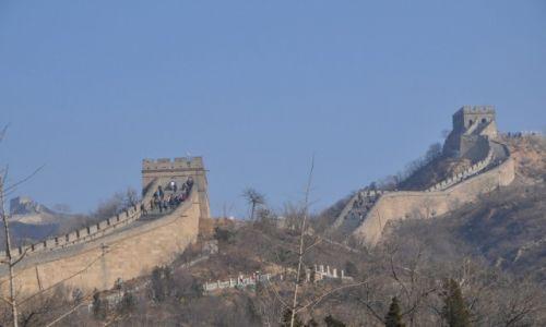 CHINY / Beijng / Badaling / Chiński Mur