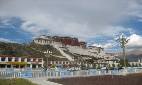 CHINY / Tybetański Region Autonomiczy / Lhasa / Potala
