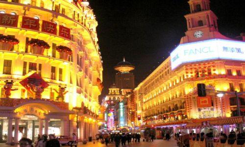 Zdjecie CHINY / brak / Szanghaj / Nanjing Rd. - ulica neonów