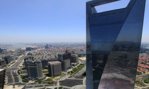 Zdjęcie CHINY / Shangai / Pudong / World Financial Center