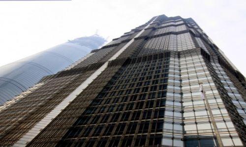 Zdjecie CHINY / Shanghai / Pudong / Jin Mao Tower i Shangai Tower