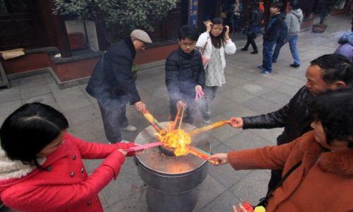 Zdjęcie CHINY / Shanghai / Shanghai / Świątynia boga miasta