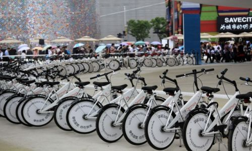 Zdjęcie CHINY / Shanghai / Shanghai / EXPO 2010 - Holandia