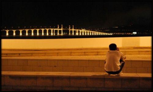 Zdjecie CHINY / Hong Kong / Tsing ma bridge / KONKURS