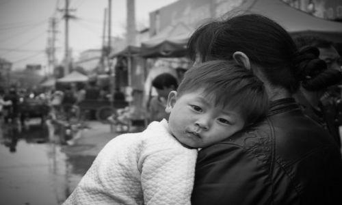 Zdjecie CHINY / Henan / Pingdingsan / młodzieży...