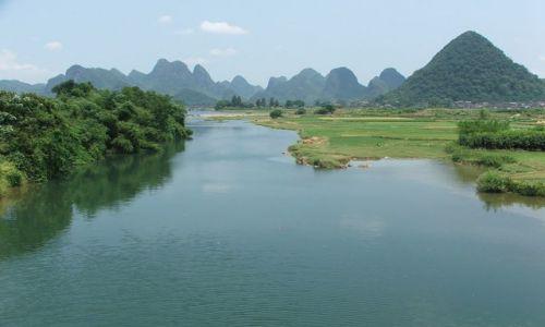 Zdjecie CHINY / brak / Okolice Yangshuo / Dopływ Li
