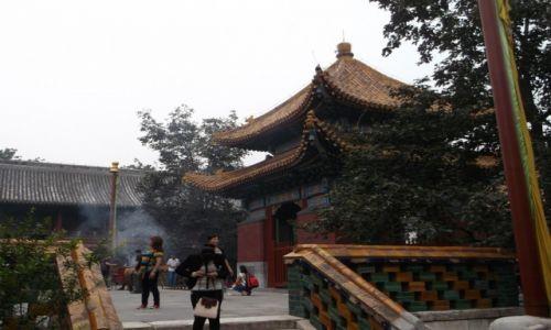 CHINY / Pekin / Pekin / Świątynia Lamy