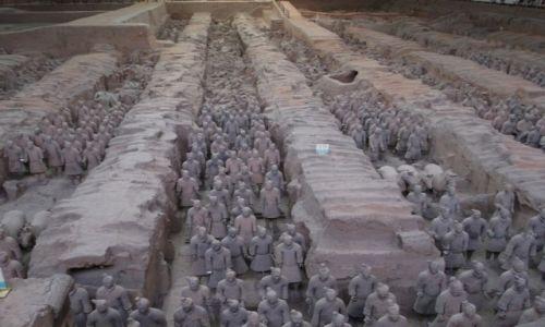 CHINY / Xi'an / Xi'an Muzeum Terakotowych Wojowników / Xi'an Terakotowi Wojownicy