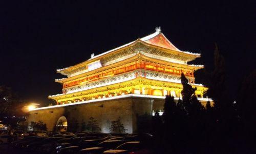 CHINY / Xi'an / Xi'an Muzeum Terakotowych Wojowników / Xi'an Wieża Bębnów