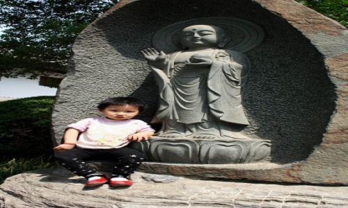 Zdjecie CHINY / - / Xi'an / Mały Budda