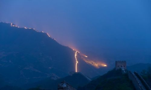 Zdjecie CHINY / Jinshanling / Wielki Mur / Mur 2