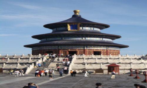 CHINY / Pekin / Świątynia Nieba / Pekin Świątynia Nieba