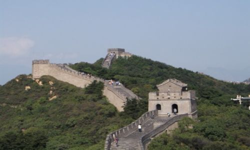 CHINY / Pekin / Mud Chiński / Mur Chiński
