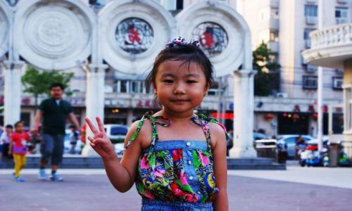 Zdjecie CHINY / Tianjin / na ulicy / Peace