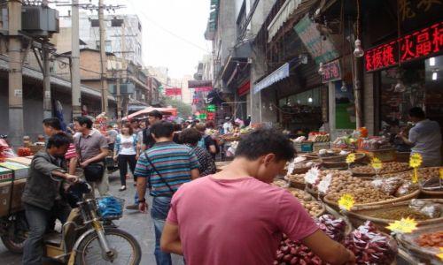 Zdjecie CHINY / Datong / Stare Miasto / Na Bazarze