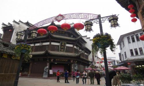 CHINY / Anhui / Huangshan / Miasteczko Tunxi niedaleko Huangshan