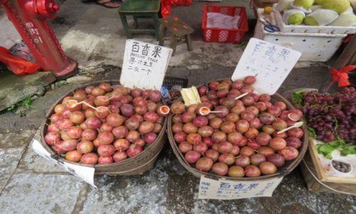 CHINY / Guilin / Yangshuo / Marakuje, sezonowy przysmak