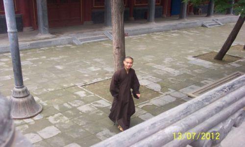Zdjecie CHINY / - / Pekin / mnich