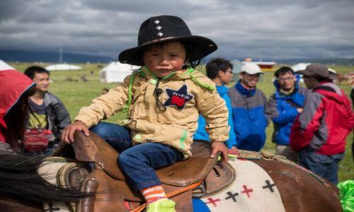Zdjecie CHINY / Syczuan / Litang / Horse Festival
