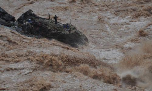 Zdjecie CHINY / Yunnan / Lijiang / w wąwozie skaczącego tygrysa