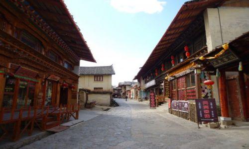 CHINY / Yunnan / Shangri-La (Zhongdian) / Shangri La przed pożarem (1)
