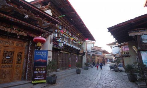 CHINY / Yunnan / Shangri-La (Zhongdian) / Shangri La przed pożarem (3)