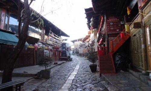 CHINY / Yunnan / Shangri-La (Zhongdian) / Shangri La przed pożarem (4)