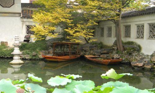 CHINY / Suzhou / Lingering Garden / Chwila ciszy