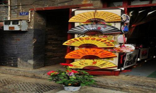 Zdjęcie CHINY / prowincja Henan / Luoyang / Wachlarze