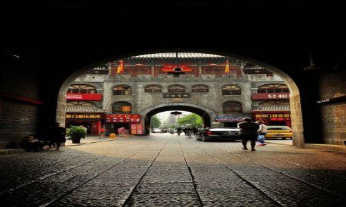 Zdjęcie CHINY / prowincja Henan / Luoyang / Brama od tyłu