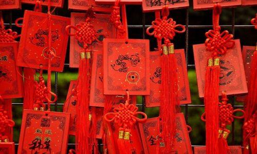 Zdjecie CHINY / Pekin / prawie w Pekinie / Wróżby???Modlitwy???