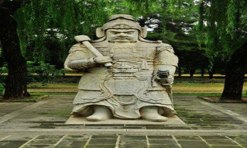 Zdjecie CHINY / Pekin / prawie w Pekinie / Wykidajło