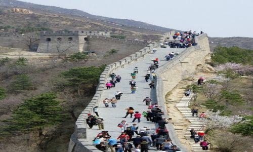 CHINY / Okolice Pekinu / Badaling / Wielki Mur Chiński